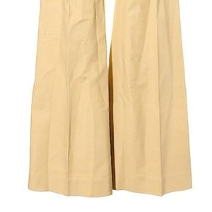 Tory Burch Pants - Tory Burch Yellow Flare Leg Low Rise Trousers